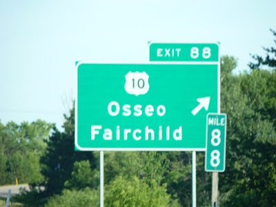 Osseo road sign