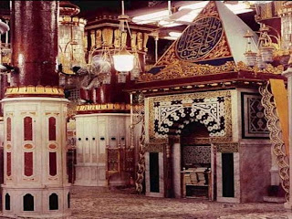 Inside View Of Masjid e Nabvi
