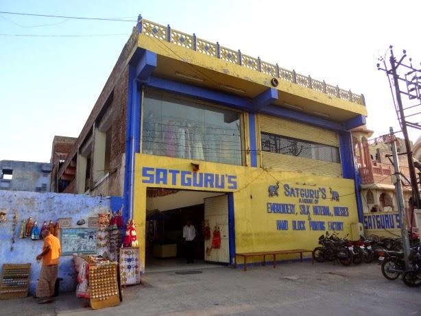 satguru satguru's tissu étoffe fabric silk jaipur inde