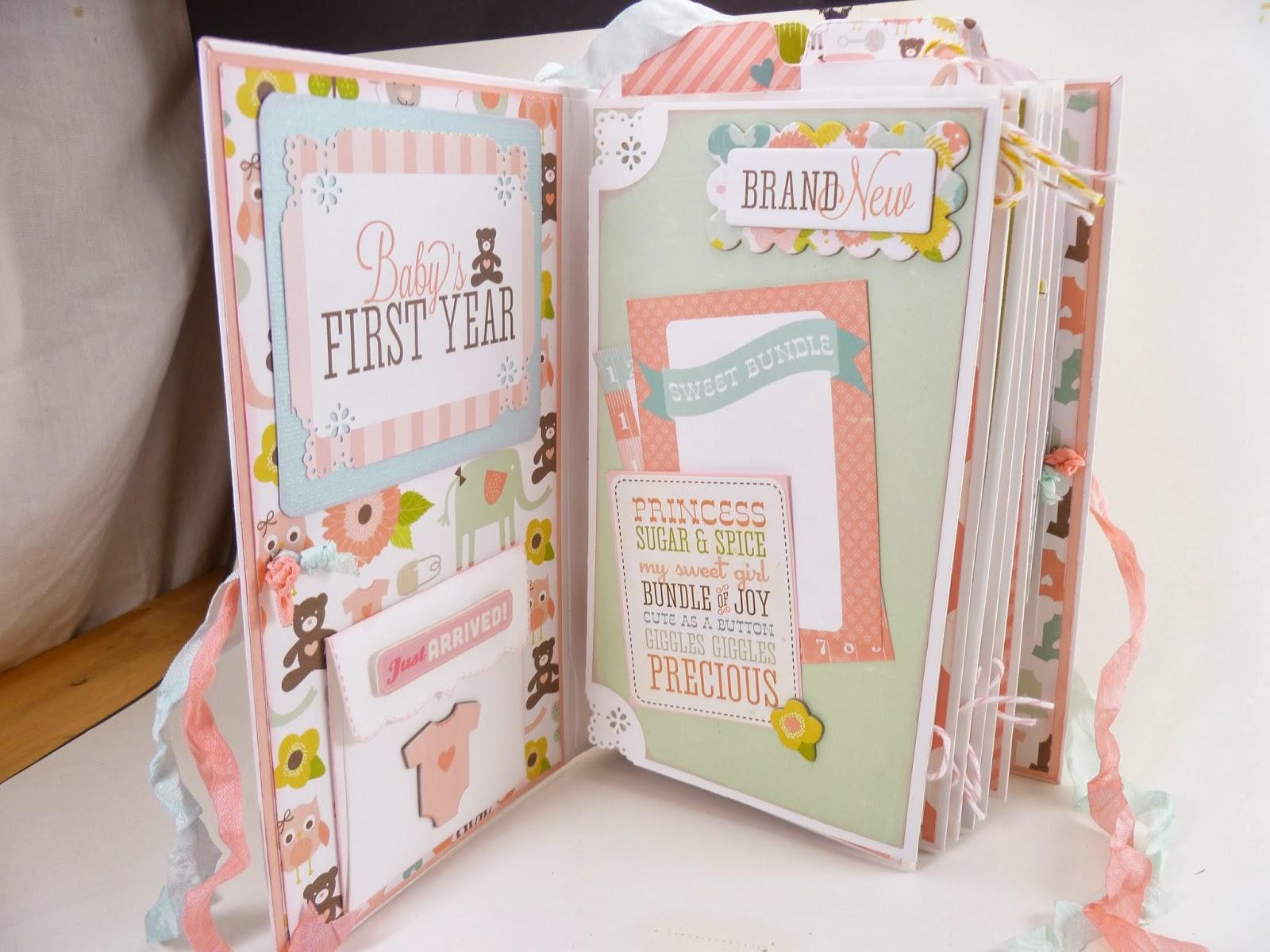 carolee s creative classroom baby girl mini album