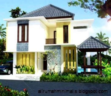 desain rumah lantai 2 minimalis design rumah minimalis
