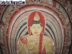 Ada Buddha Tidur di Dalam Gua Srilanka