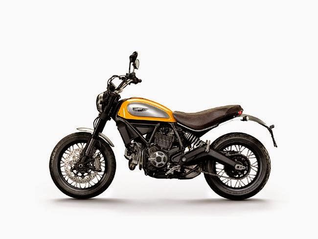 Ducati Scrambler Classic Left Side