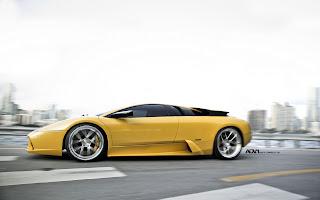 Lamborghini Murcielago Street HD Wallpaper