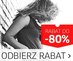 Promocja rabaty do 80% na Versace i inne ubrania