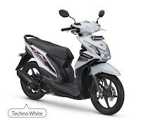 Honda BeAT FI CW Putih