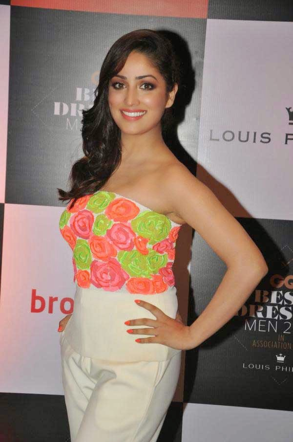 Yami Gautam At GQ India's Best Dressed Men 2014 Awards