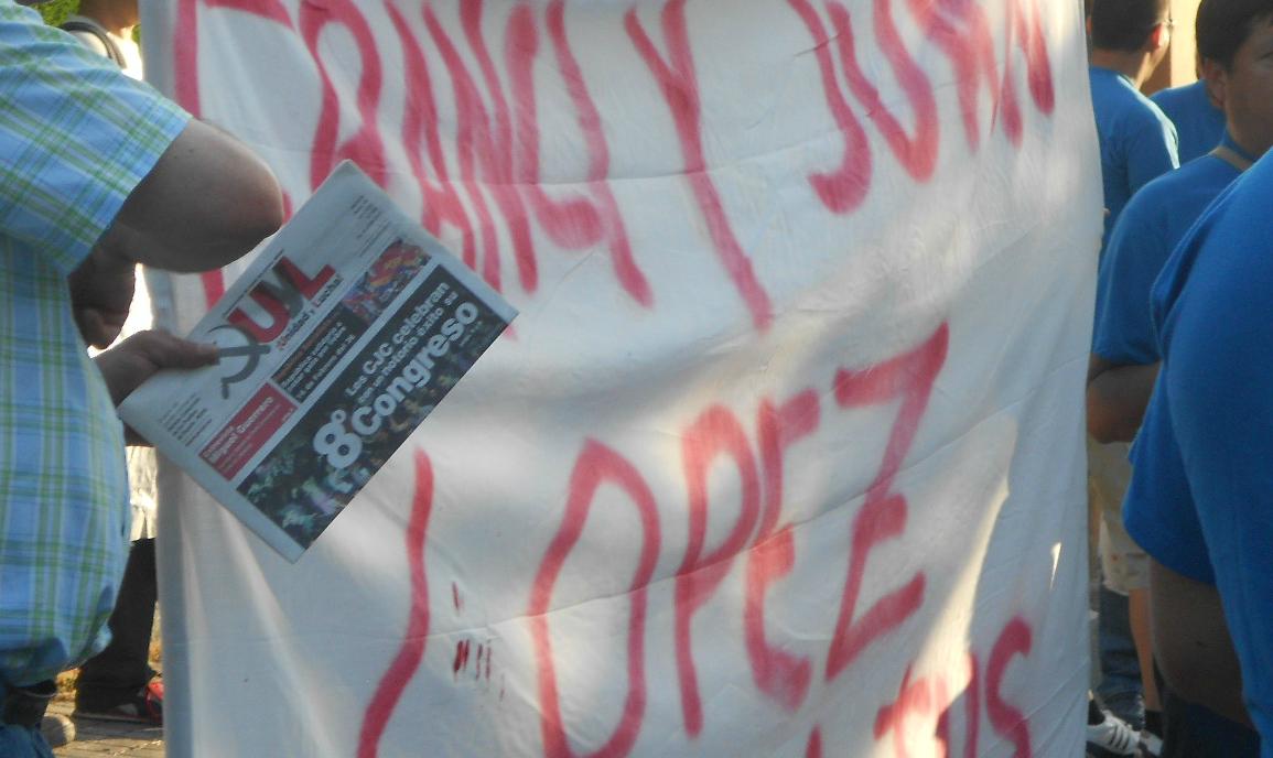 Granada; Crónica de la lucha de los trabajadores de Lobeca Imagen+124