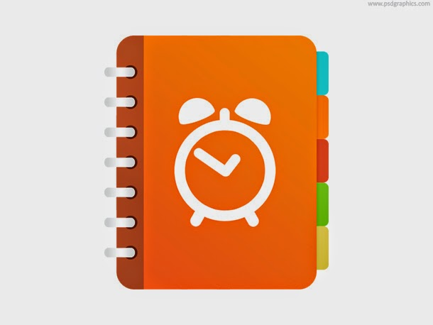 Reminder Application Icon PSD