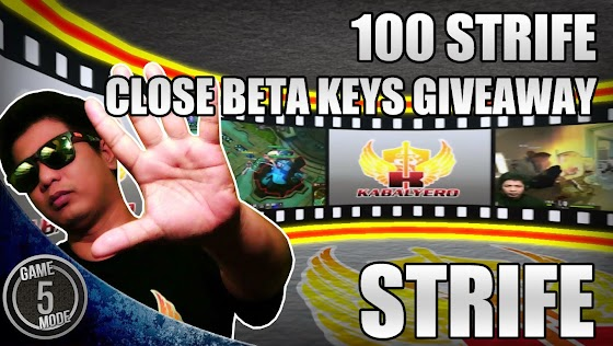 100 Strife Close Beta Keys Giveaway