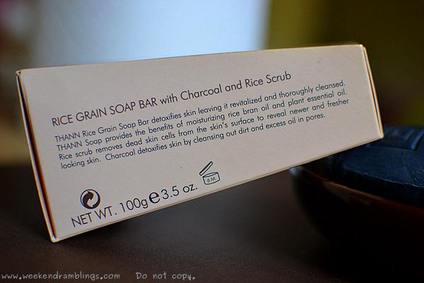 Thann Rice Grain Soap Bar Bran Charcoal Scrub Reviews Ingredients