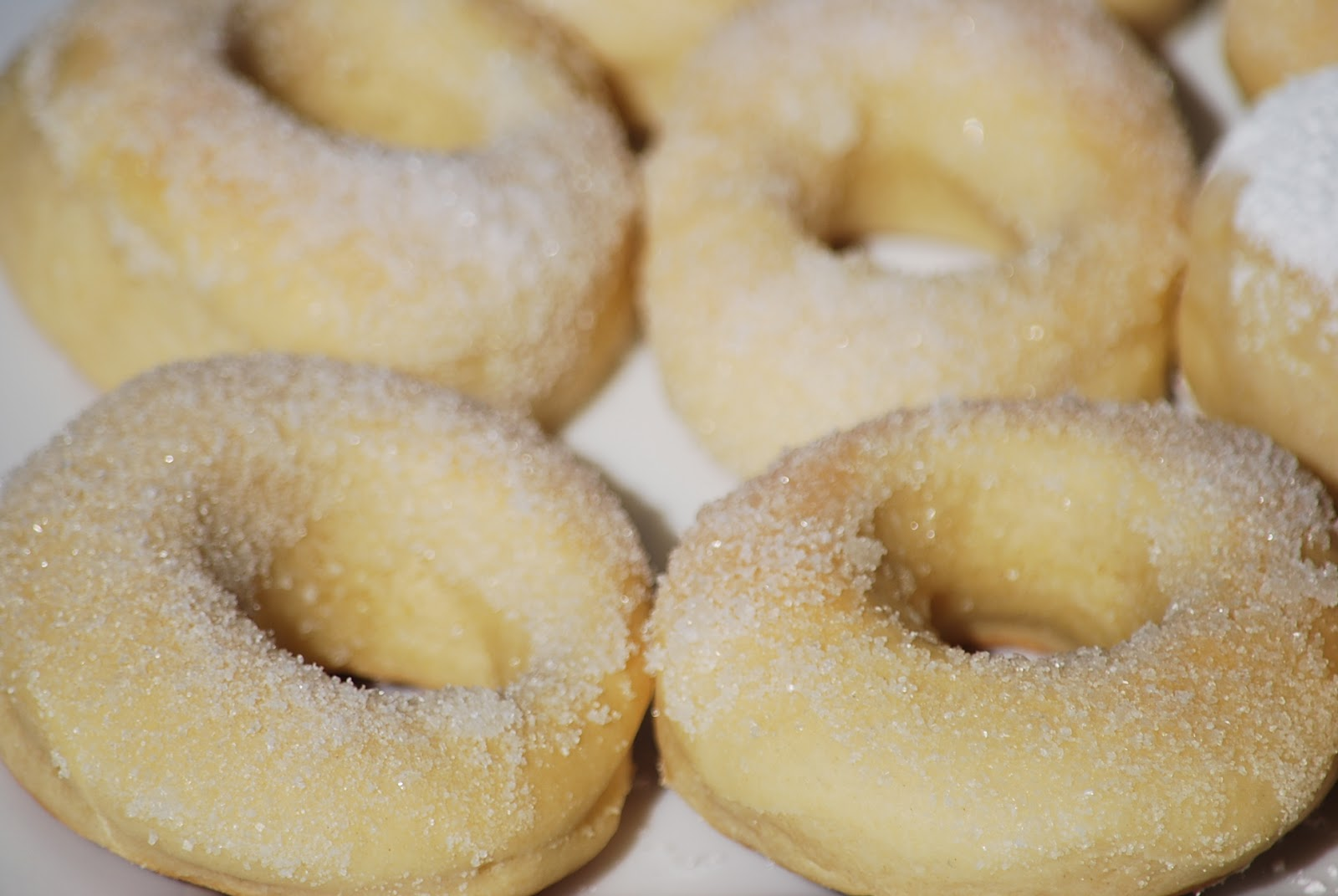 My story in recipes: Baked Doughnuts