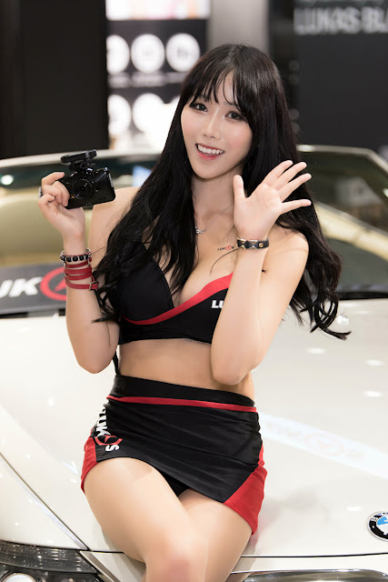 2 Kim Ryu Ah - Seoul Auto Salon - very cute asian girl-girlcute4u.blogspot.com