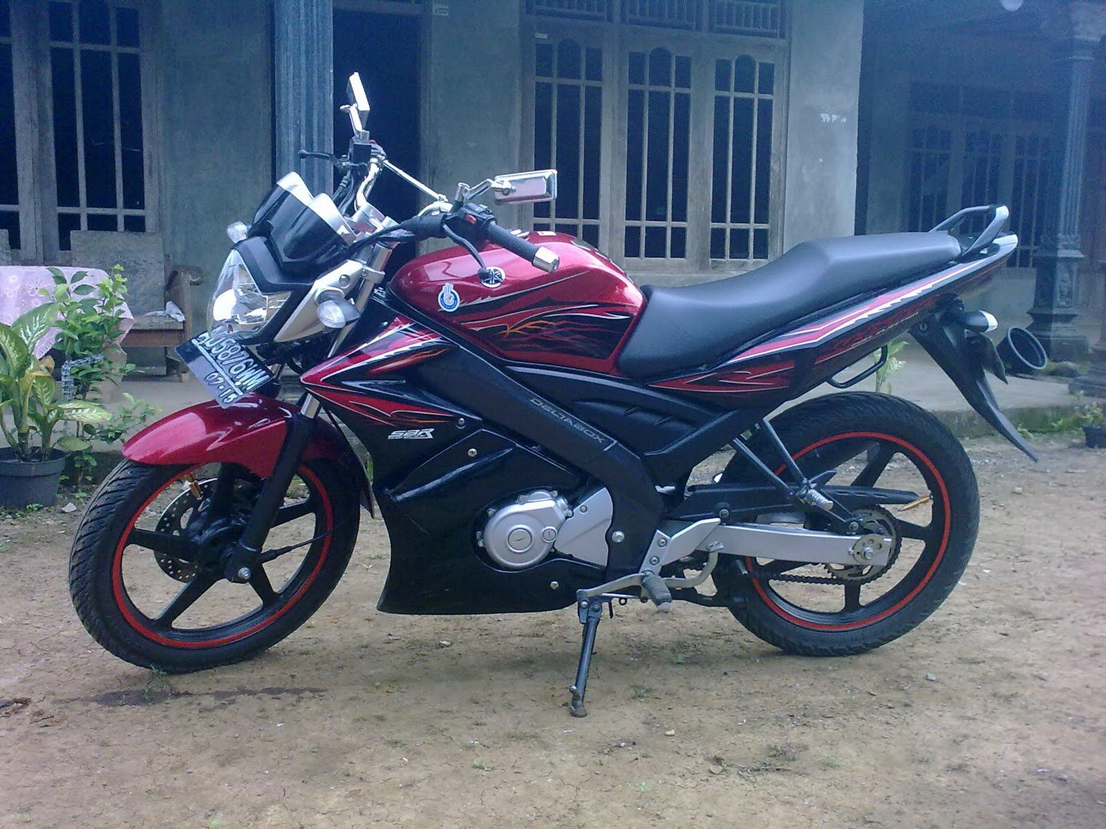 Modif Yamaha Vixion Bandung