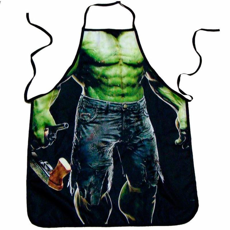 Delantal Increíble Hulk
