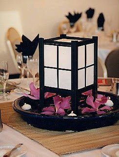 Wedding Decor, oriental centerpieces