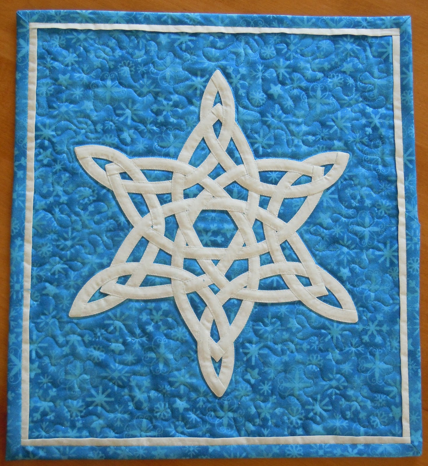 Jennifer And The Blueberry Girls Celtic Knot Snowflake