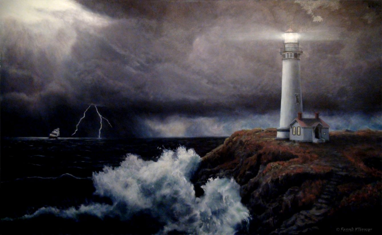 Lighthouse Paintings  Frank Kliewer