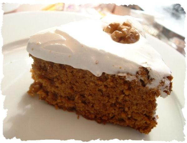 Recette Carott Cake Sans Gras