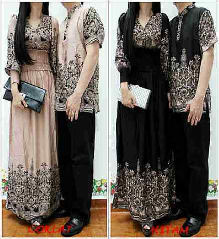 Busana: Baju Gamis Couple 1 (BHM-008)