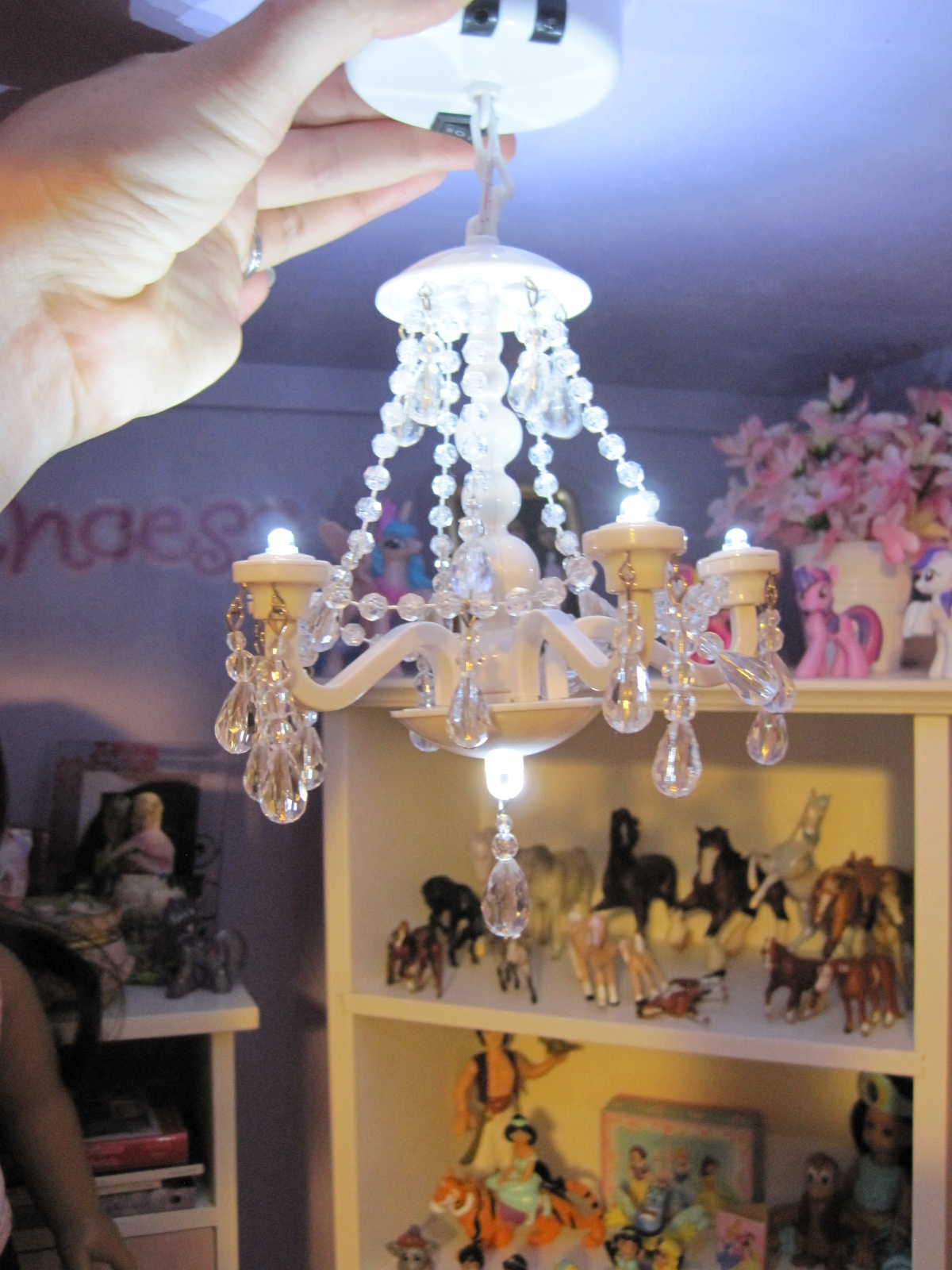Never grow up a moms guide to dolls and more adorable doll never grow up a moms guide to dolls and more adorable doll sized chandelier at walmart arubaitofo Image collections