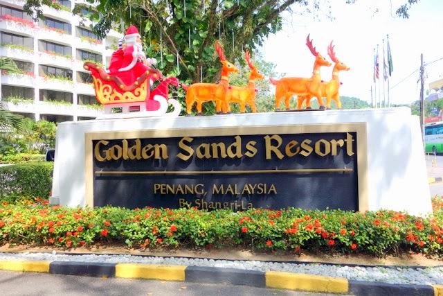 Golden Sands Penang Family Room