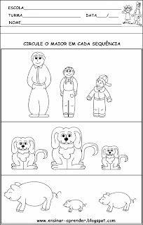 CONCEITOS MATEMÁTICOS MAIOR E MENOR