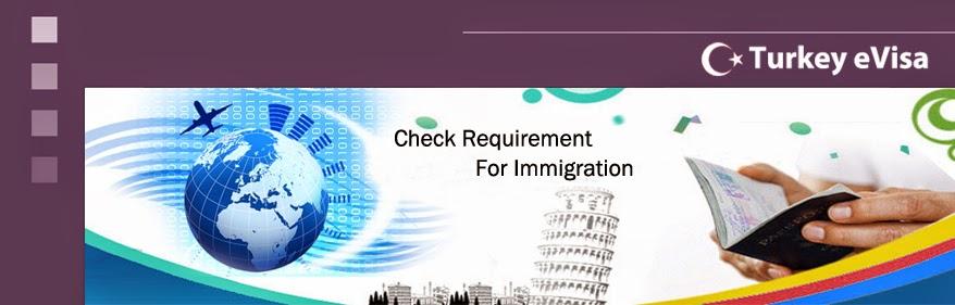 Visas for Turkey