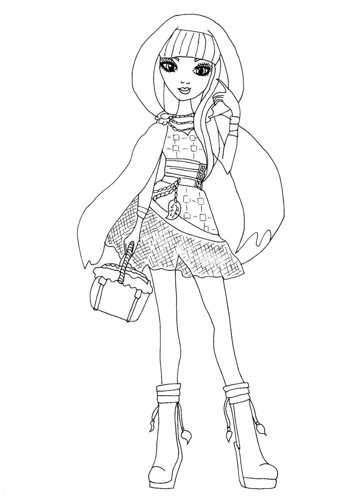 Coloring Pages Ever After High : Free printable ever after high coloring pages september