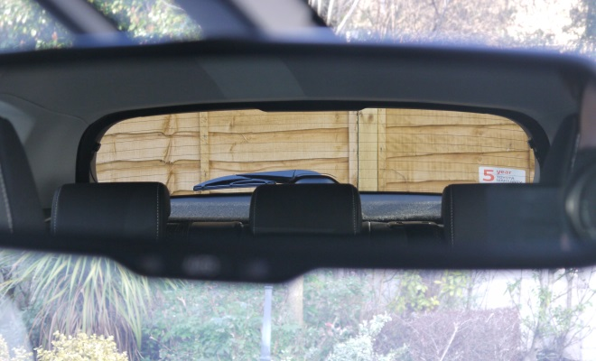 2013 Toyota Auris Hybrid rear view mirror