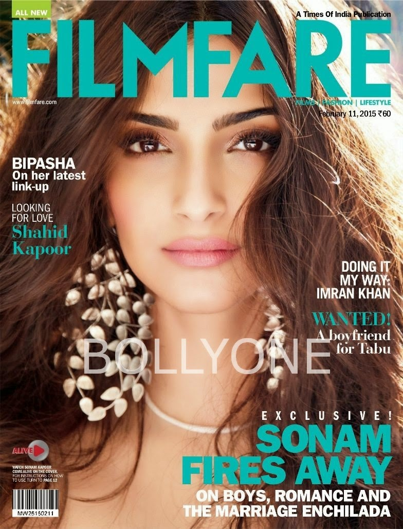 Actress: Sonam Kapoor for Filmfare