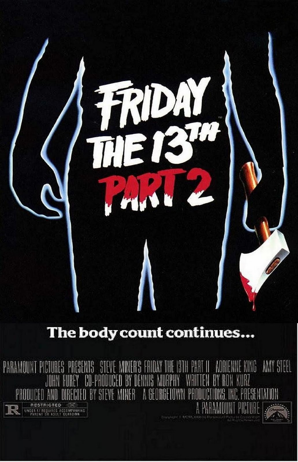 His Delusions of Grandeur: Friday the 13th Marathon Part II