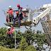 Dinas Kebakaran Gelar Latihan Simulasi Penanganan Kebakaran