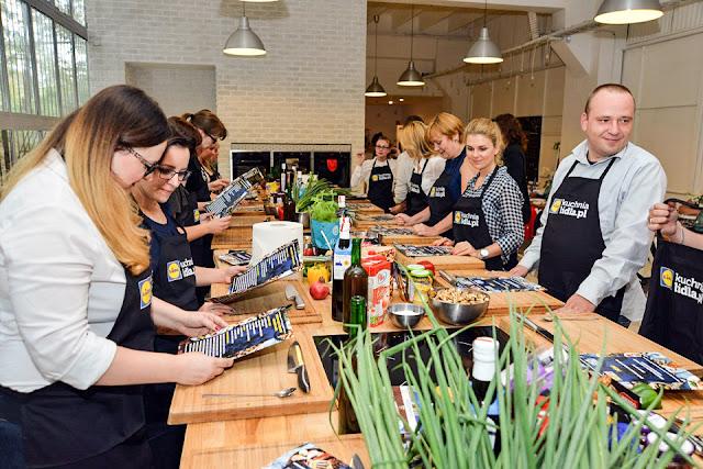kulinarne warsztaty blogerów