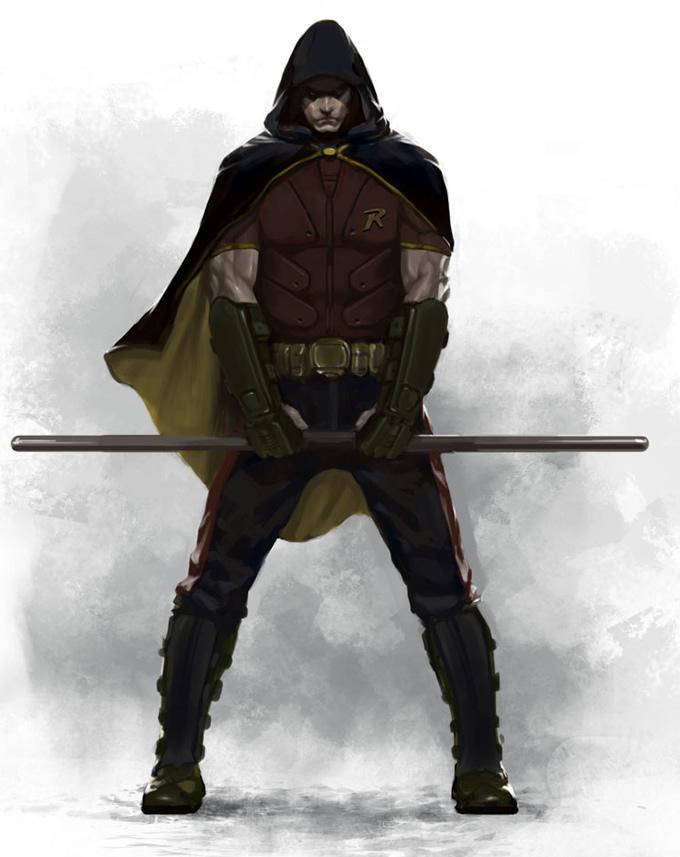 Robin versão hardcore