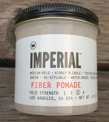 Imperial Fiber Pomade 6.0oz Baru  Men's Grooming