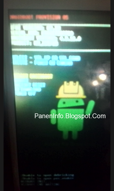 Mode DROIDBOOT Asus