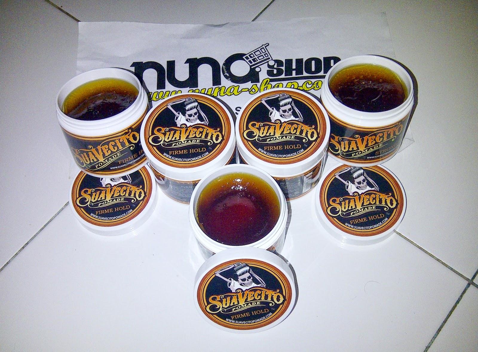 Nuna Shop Jual Produk Perawatan Rambut Pria Berkualitas & Murah Pomade Suavecito Firm Hold (FS) Original Free Sisir