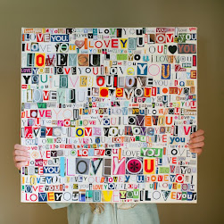 I Love You Collage