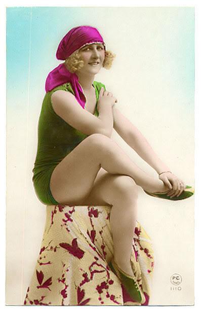 Купальный костюм 1920.
