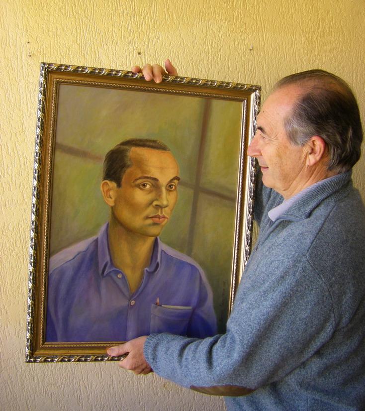 Retrato de Miguel Hernández