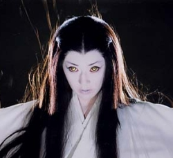 Taken from one of Japanese movie about Yuki-onna