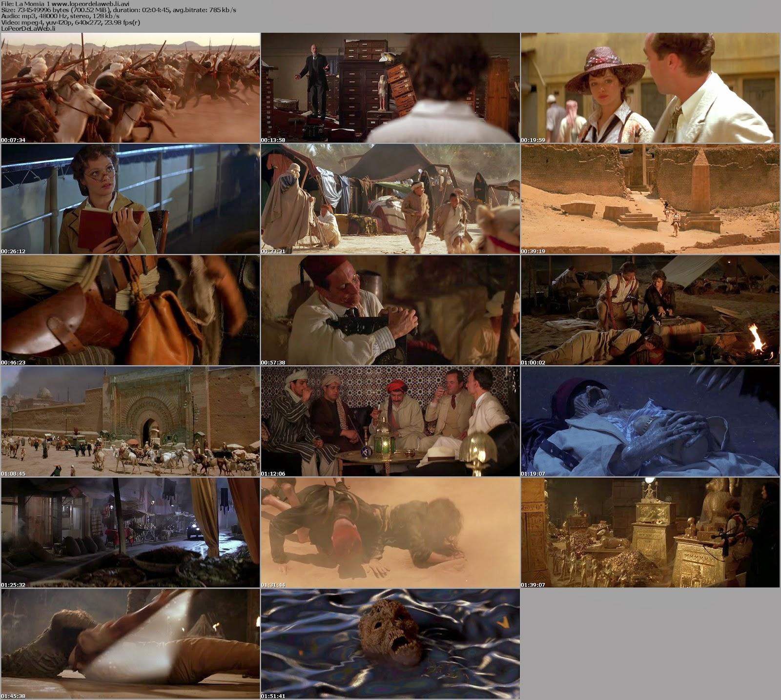 La Momia - Trilogia ( 1999 / 2008) DvdRip Latino [MG]
