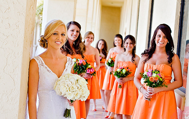 Orange Is A Compelling Color Found In Fruits And Vegetables Choose Bridesmaid Dresses For Your Fall Wedding May Be Perfect Choice