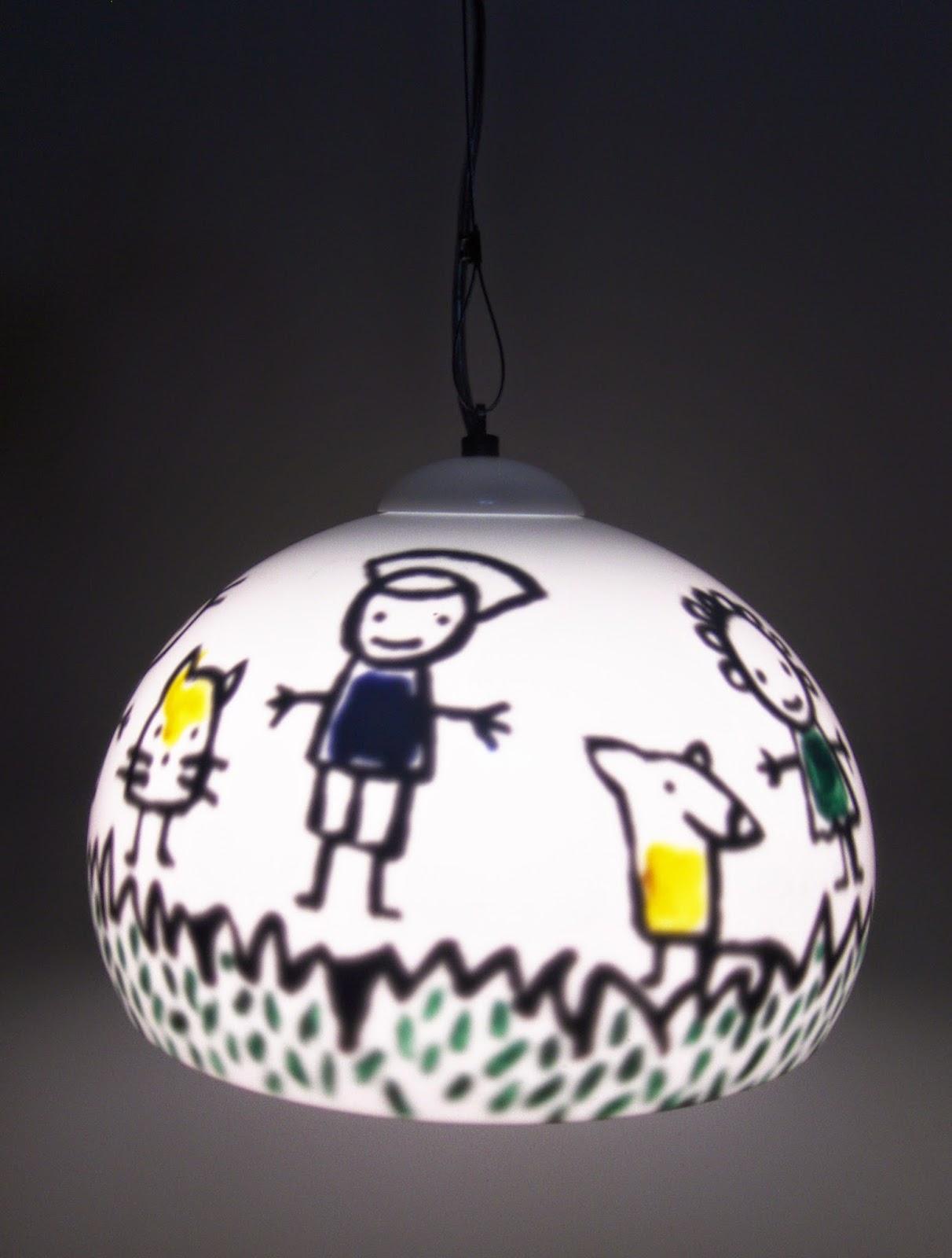 Ludica iluminacion lamparas de acrilico de techo colgantes - Lamparas infantiles colgantes ...
