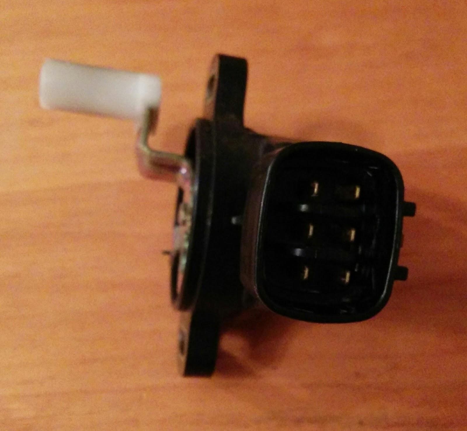 2003 toyota yaris accelerator pedal position sensor