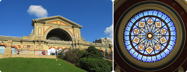 Alexandra Palace window
