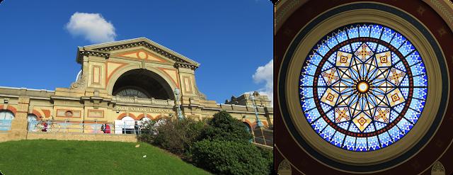 Alexandra Palace window
