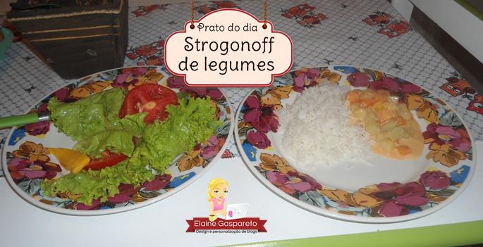 strogonoff de legumes