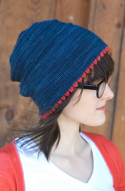 Brimley by Alex Tinsley - 20% off Malabrigo Patterns for Malabrigo March!